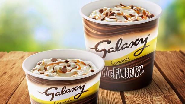 McDonald's Just Brought Back The Popular Galaxy McFlurry