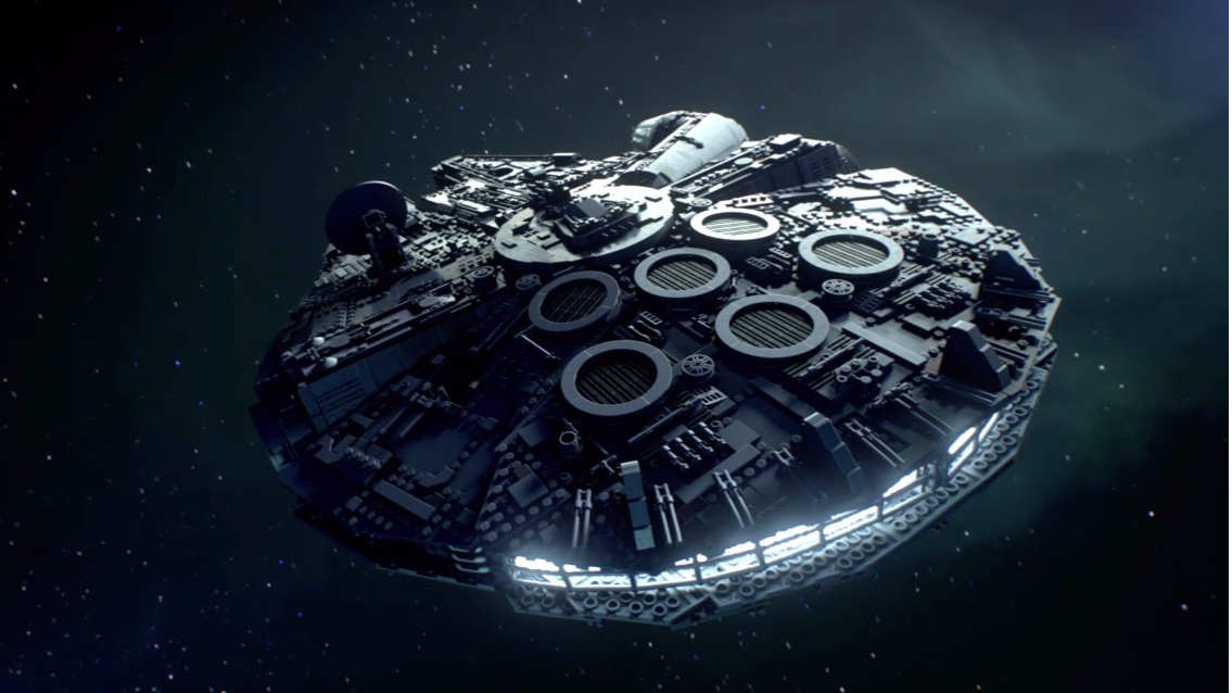 Lego Is Releasing A 7,541-Piece Millennium Falcon Set