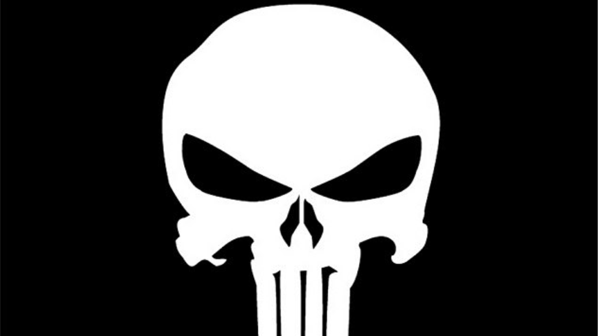 police officer caught with the punisher symbol on their