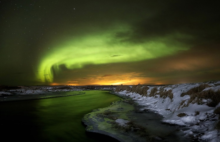 Auroa Borealis, viewed from Iceland. Credit: Northern Lights