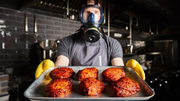 Iceland Launches Chicken Thighs So Hot They Come A With Health Warning