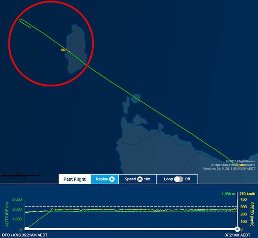 Pilot falls asleep and misses destination by almost  50km