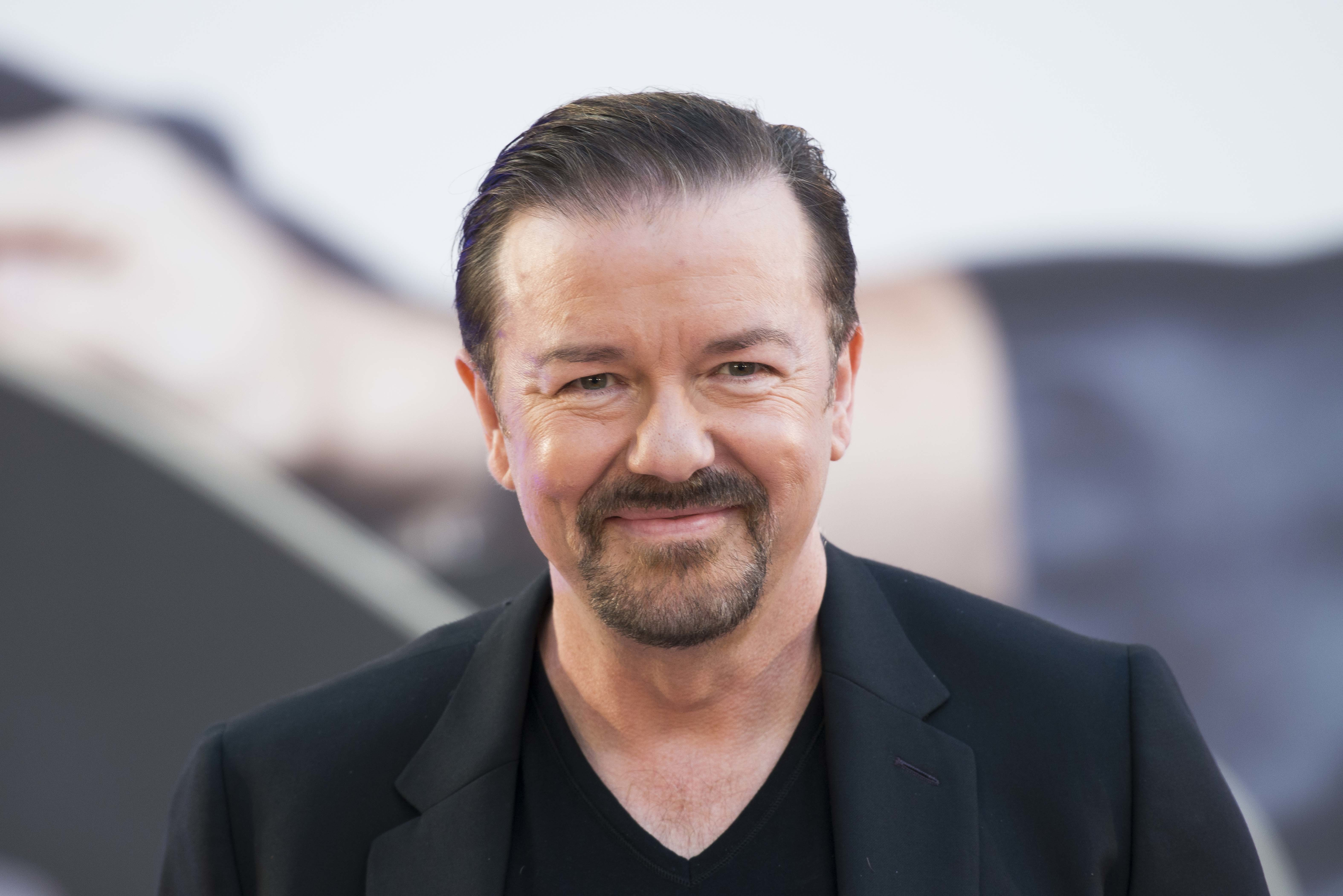 Ricky Gervais first found fame with The Office. Credit: PA