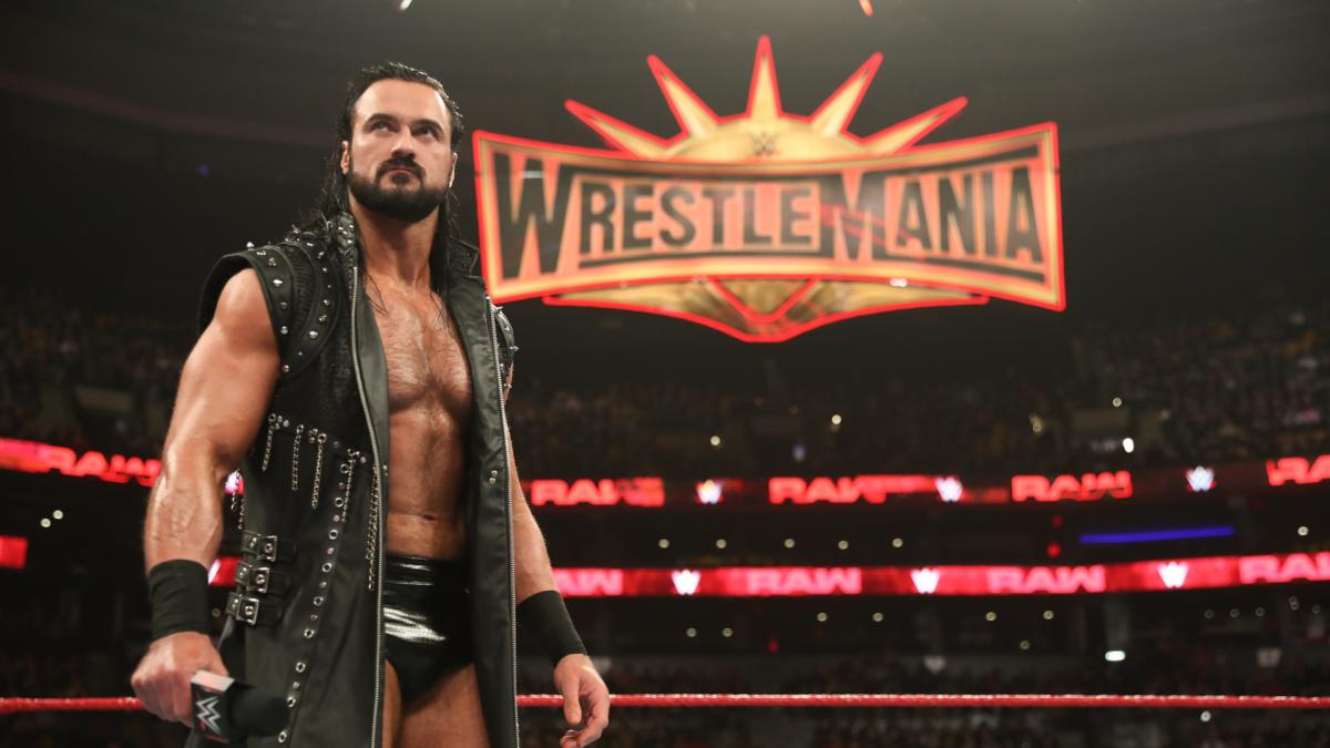 McIntyre has become one of the biggest stars in WWE and fought Roman Reigns at this year's Wrestlemania. Image: WWE