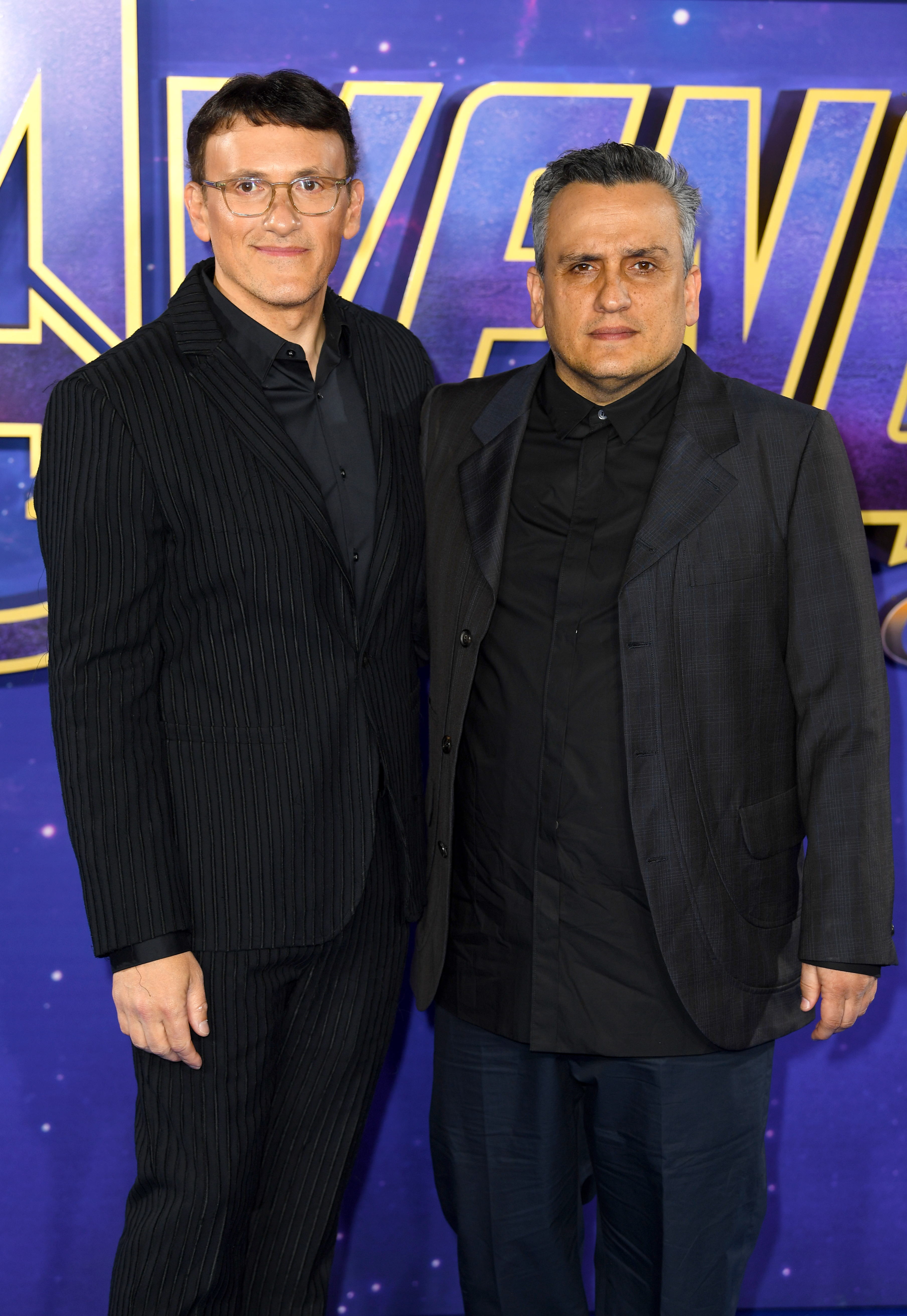The Russo brothers. Credit: PA