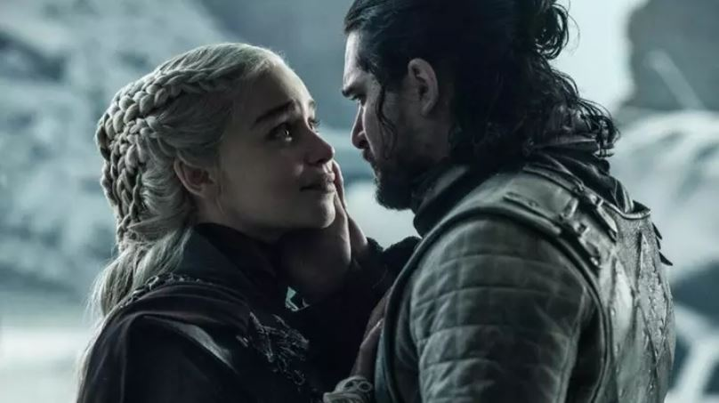 Daenerys Targaryen and Jon Snow. Credit: HBO