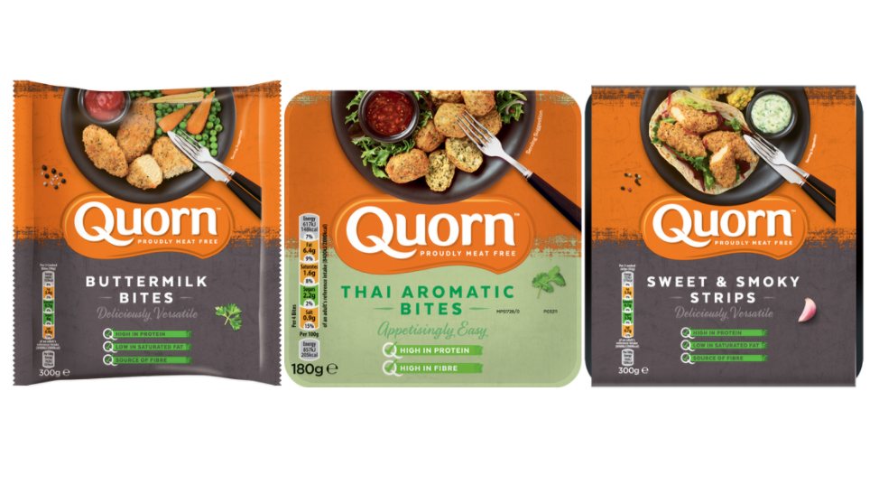 Quorn Launches Three New Yummy Vegetarian Products