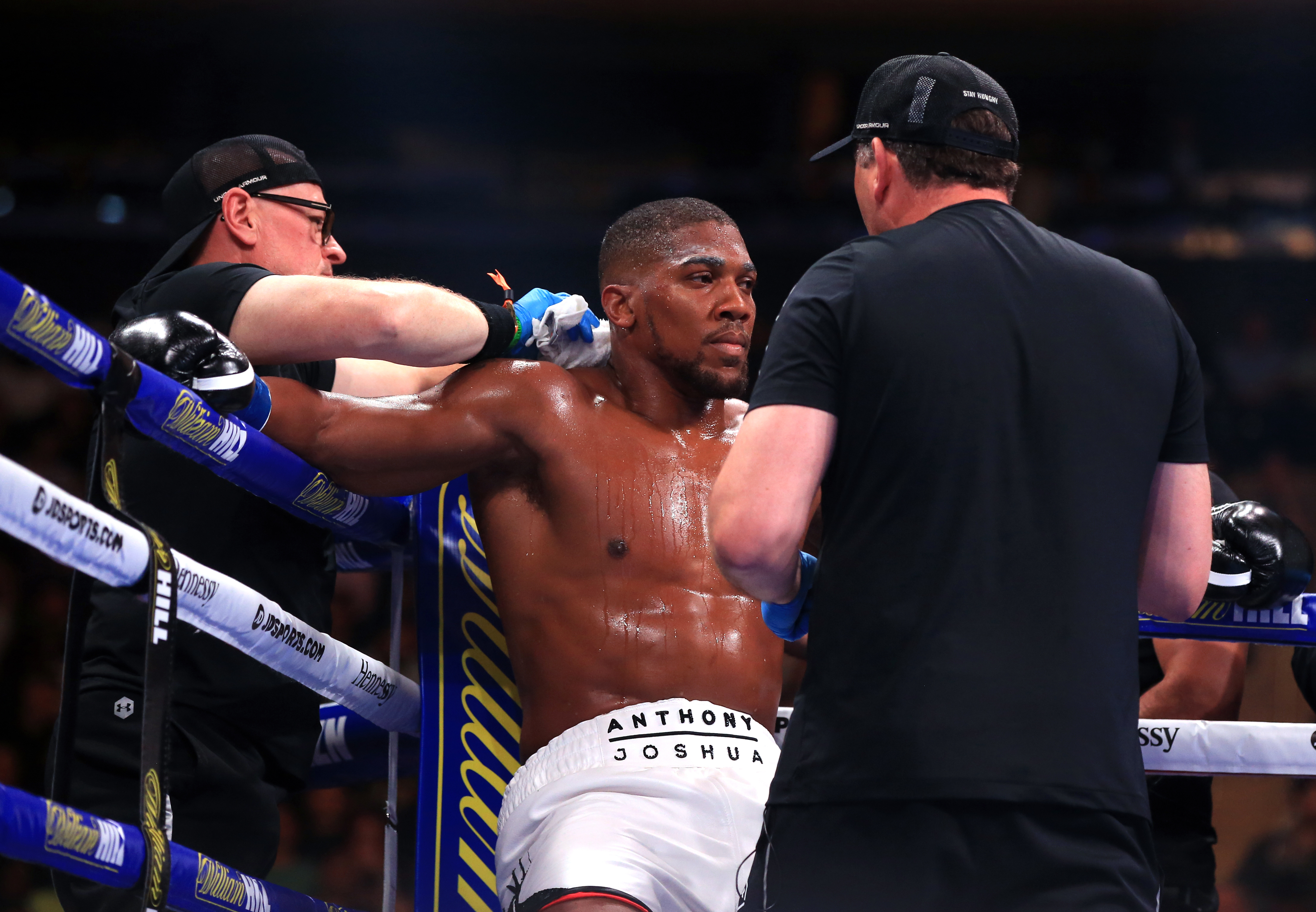 Joshua didn't look right on the night against Ruiz. Image: PA Images