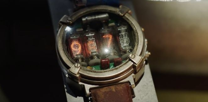 Could you pull of this Nixie watch? Credit: 4A Games