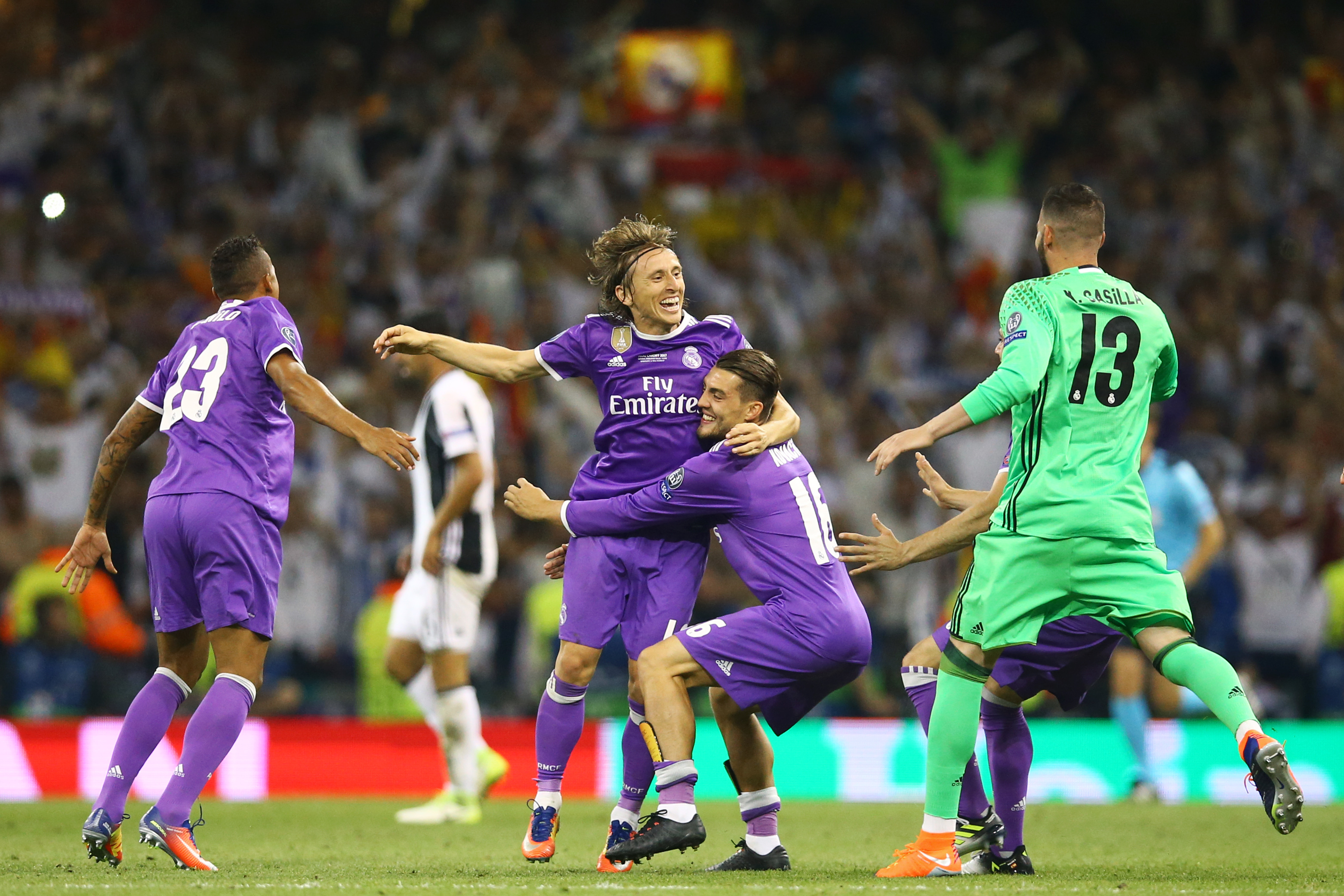 Luka modric reveals the exact tactical instructions from - Splitmania madrid ...