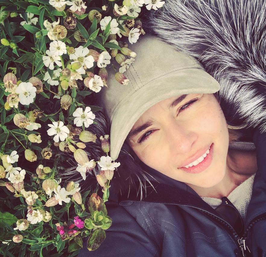 Credit: Instagram/Emilia Clarke