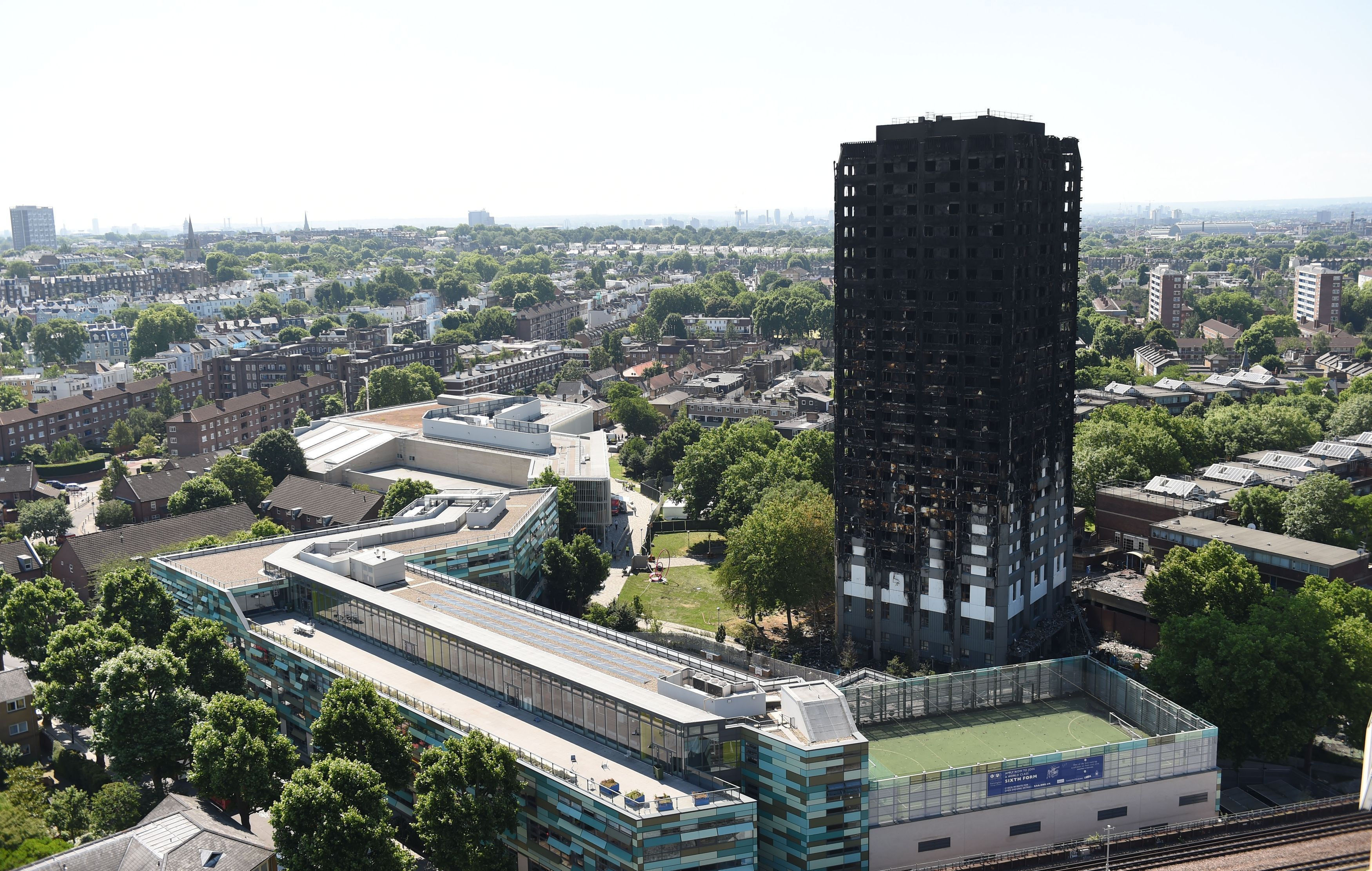 Grenfell petition calling for action from Theresa May reaches 100000 signatures