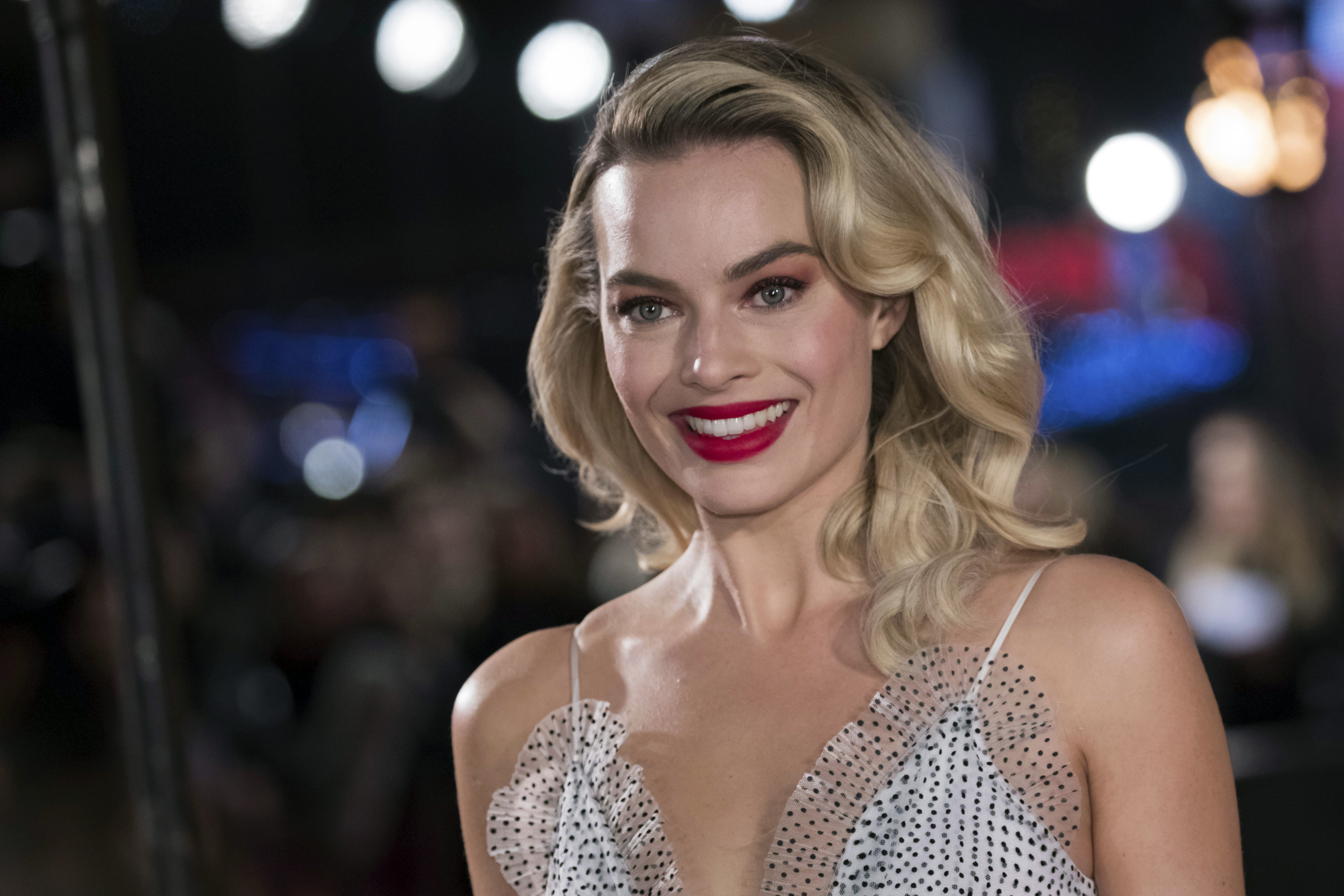 Margot Robbie says she feels so 'honoured' to take on the role. Credit: PA