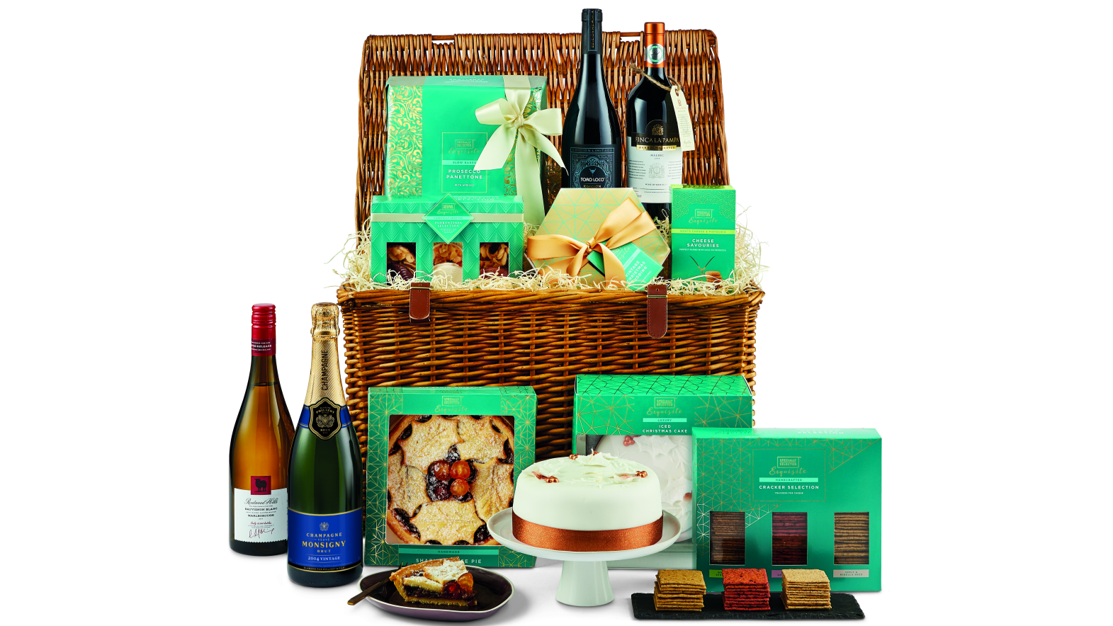 This 163 99 99 Aldi Hamper Is What Christmas Dreams Are Made