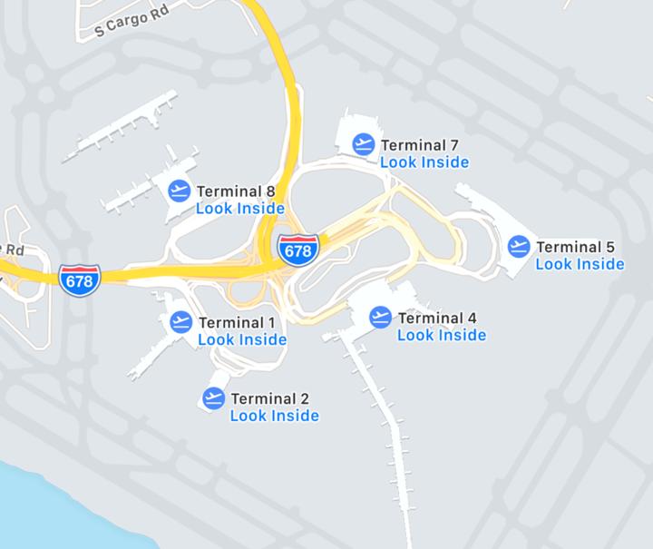 Credit: Apple Maps
