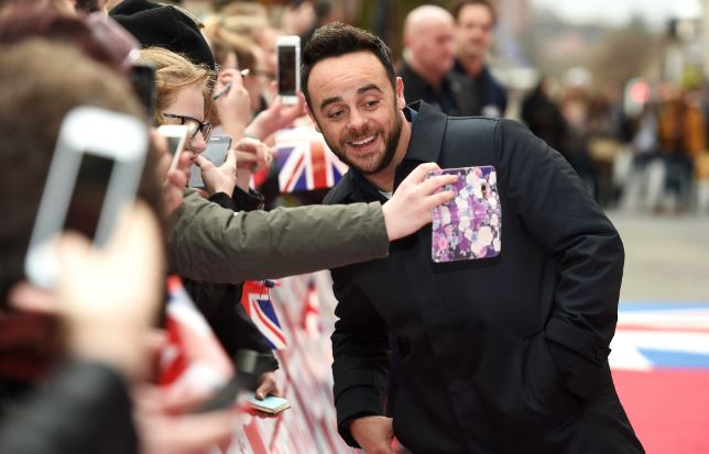 Ant McPartlin arrested on suspicion of drink-driving