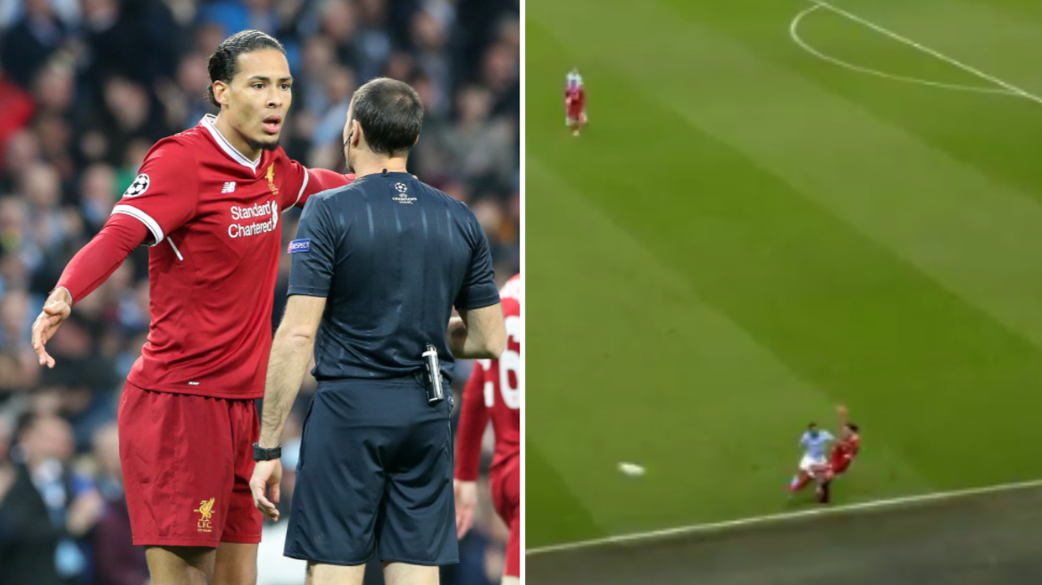 Virgil Van Dijk Is Taking Pelters After Screwing Up For City S Opener Sportbible