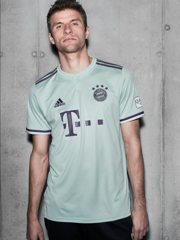 los angeles 887ab 3aa61 Bayern Munich Release New 'Ash Green' 2018/19 Away Kit And ...