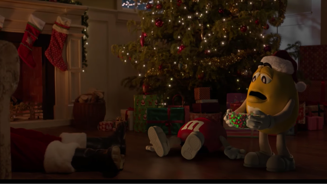 There\'s Now A Follow-Up To M&M\'s Iconic 20-Year-Old Christmas Advert ...