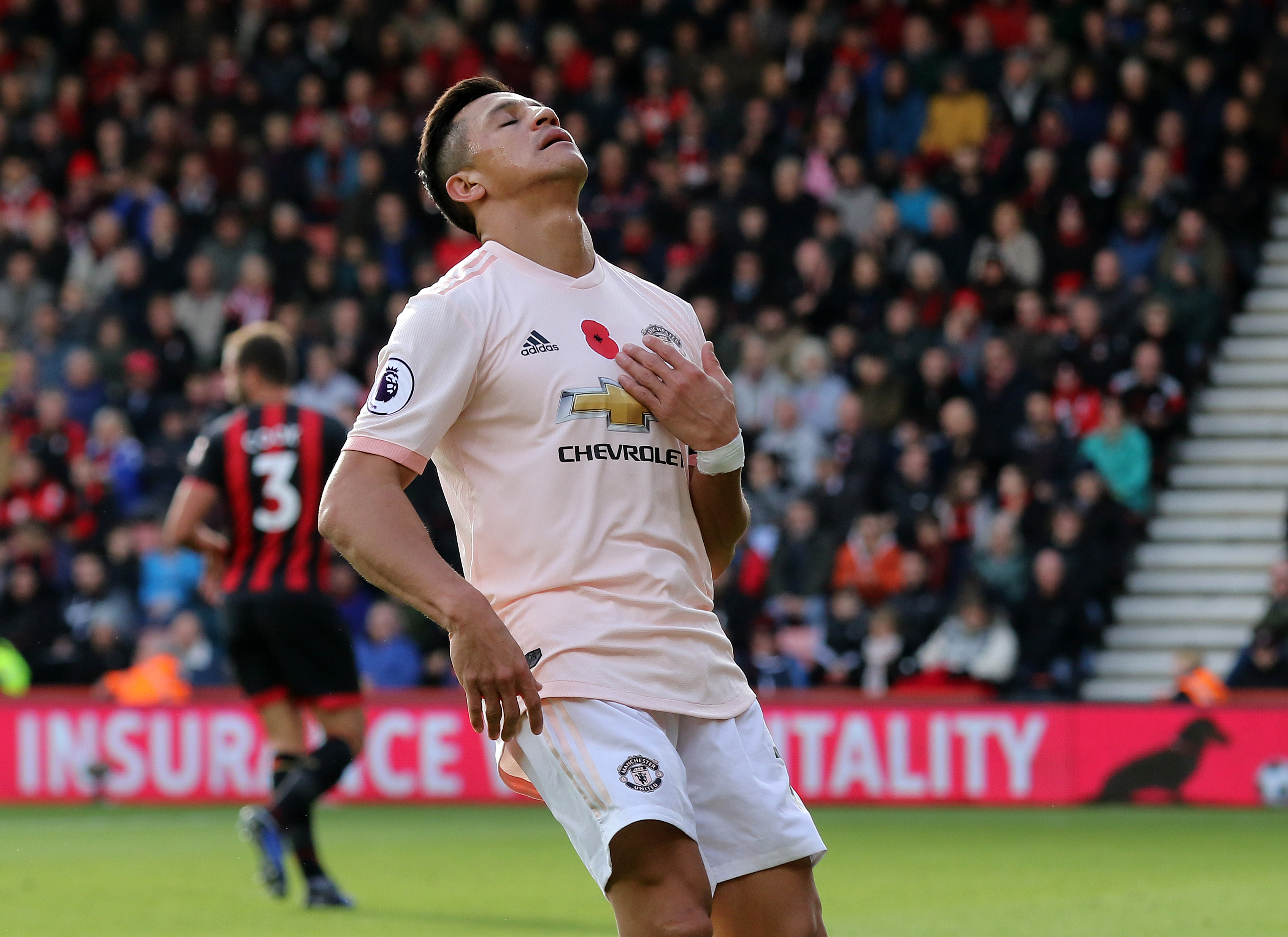Sanchez has been poor for United. Image: PA Images