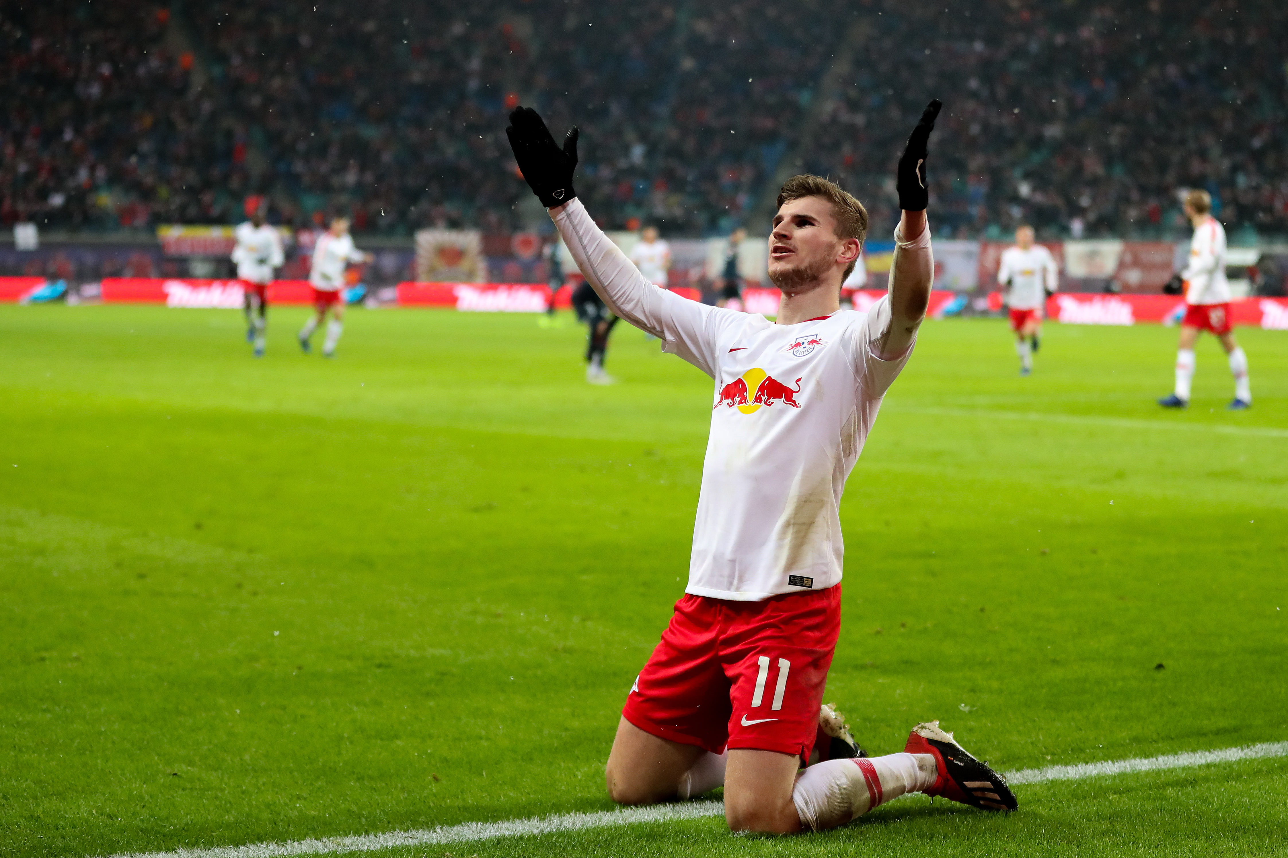 Werner has been linked with moves to several of Europe's biggest clubs. Image: PA Images