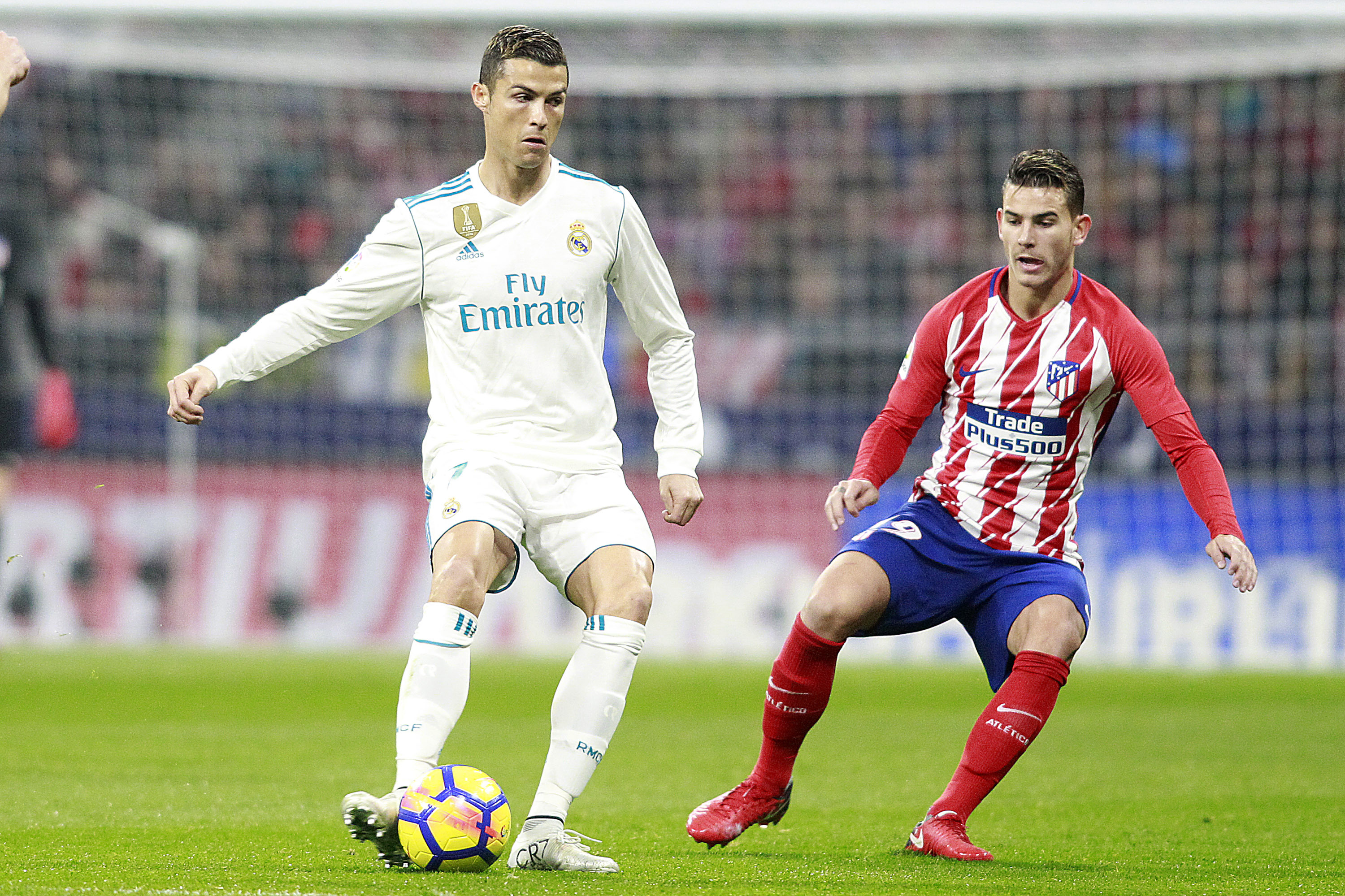 Hernandez during the Madrid. Image: PA
