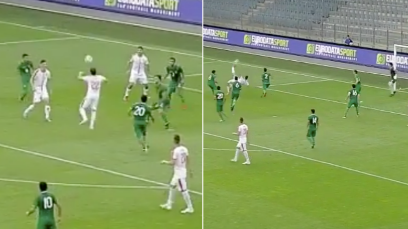 Serbia Score The Most Incredible 'Headers And Volleys' Goal During Friendly
