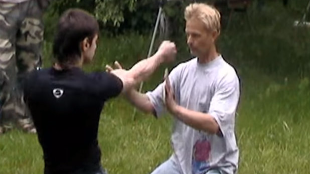 Watch What Happens When 'Energy Shield Master' Asks Martial Artist To Hit Him