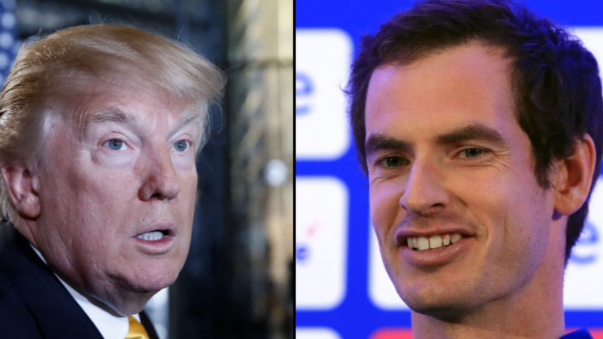 Andy Murray Goes In On Donald Trump After 'Time Person Of The Year' Tweet