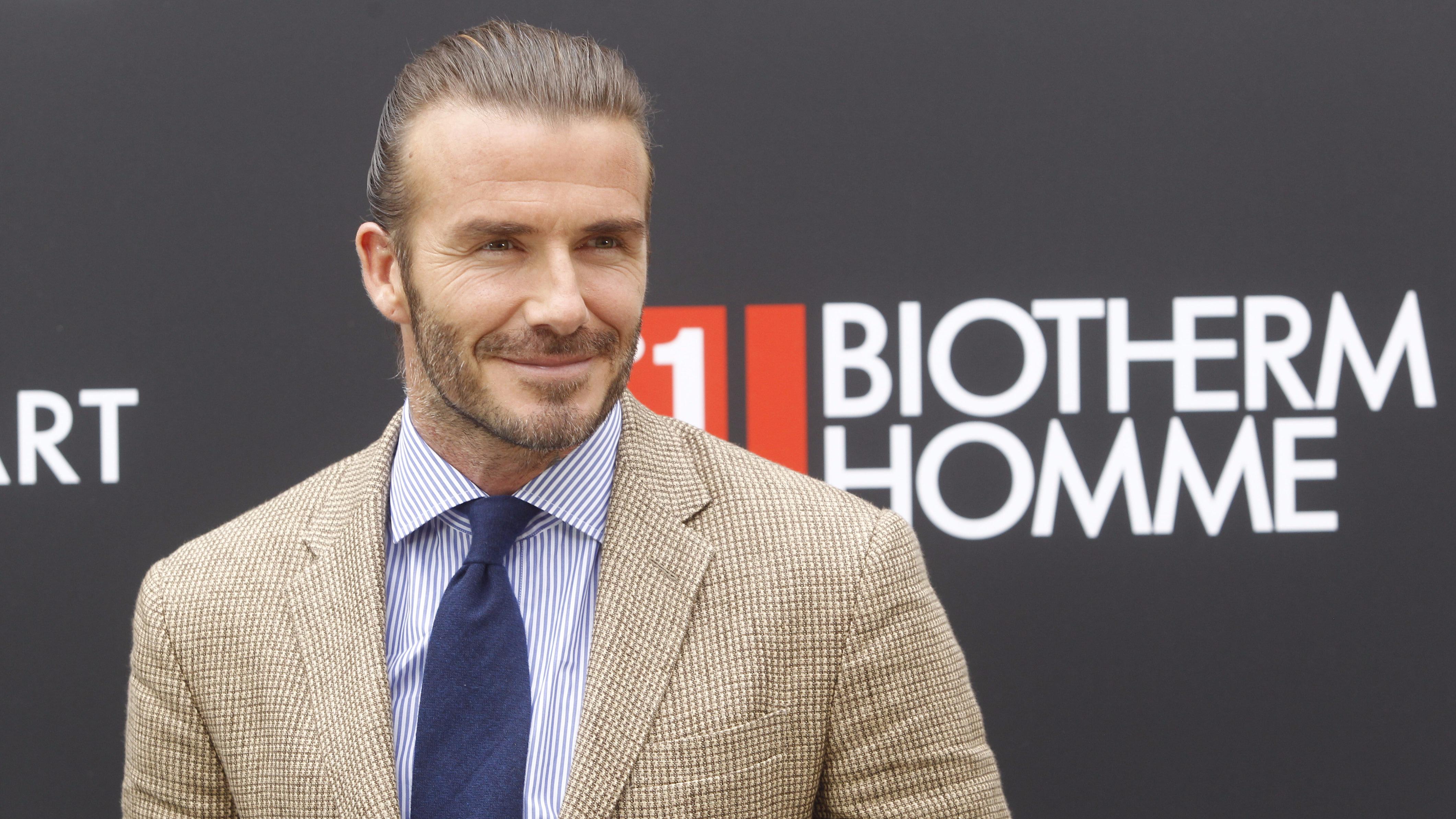 David Beckham Shuts Down A Fan After 'Botox' Claim