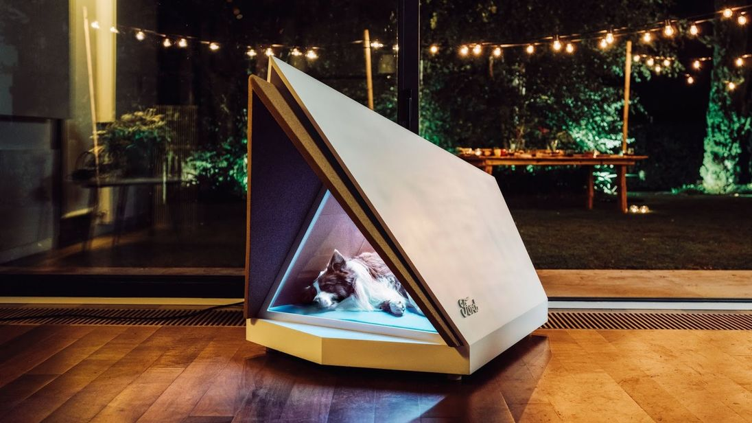 Ford's Noise-Cancelling Kennel Is for Dogs Scared of Fireworks