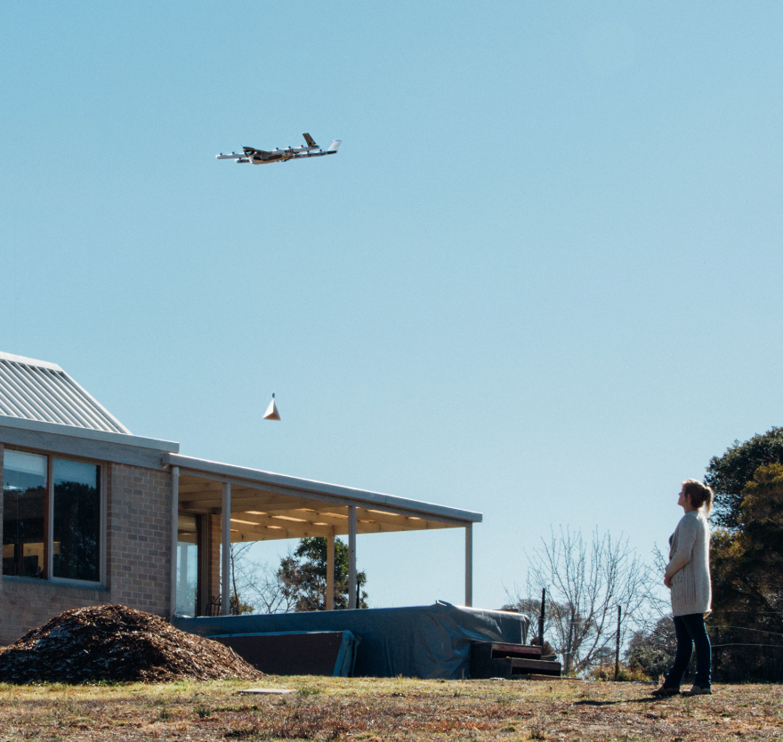 Google's Wing Launches Drone Delivery Service 04/10/2019