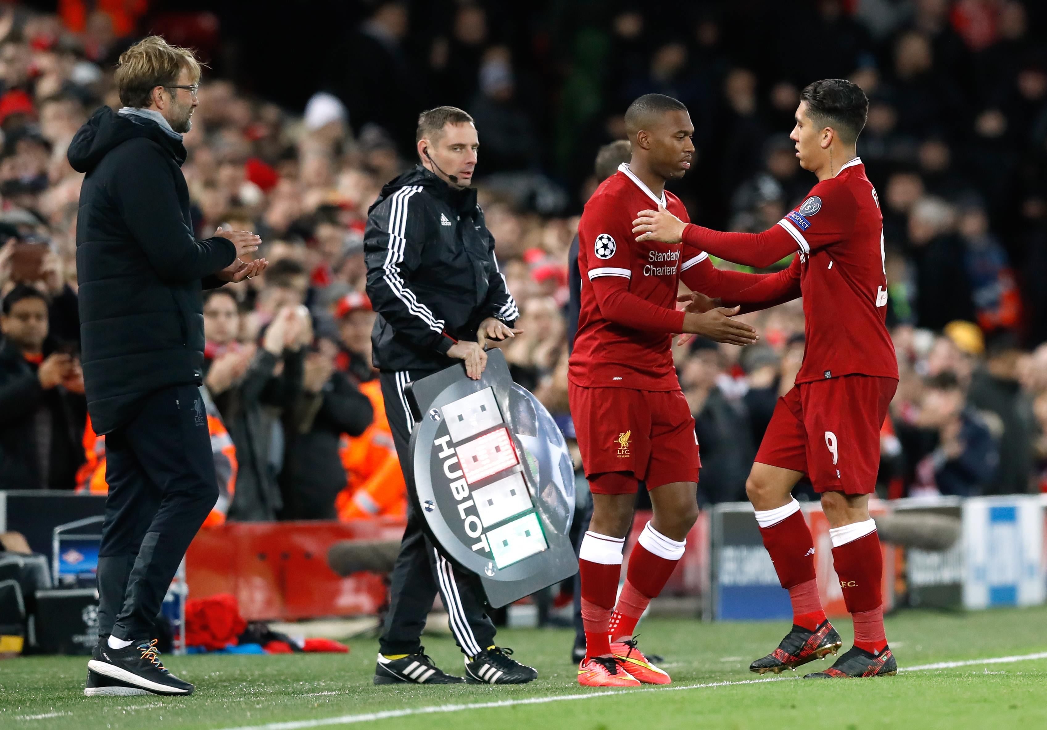 Sturridge has seen a lot of his football from off the bench this season. Image: PA Images.