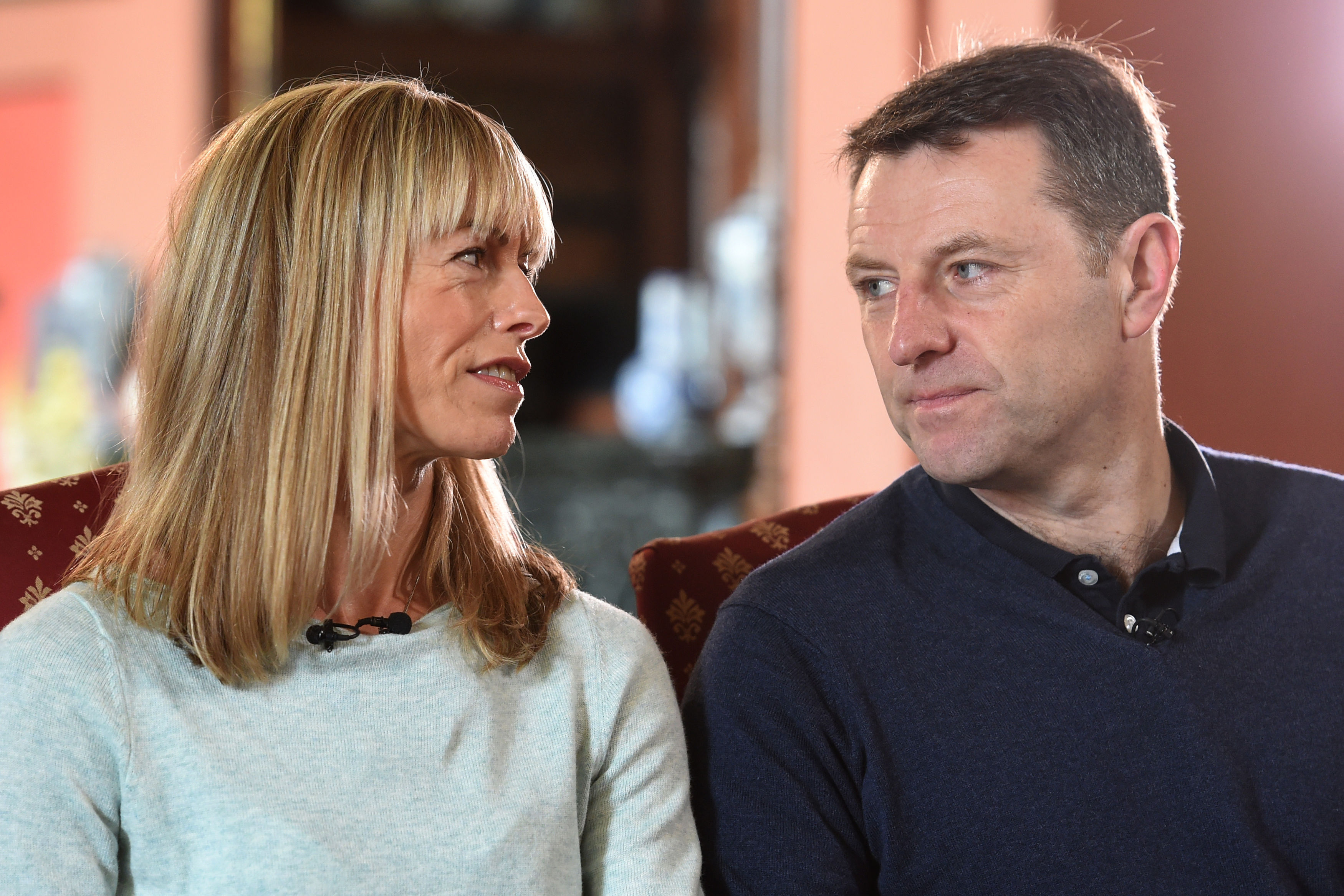 Kate and Gerry McCann. Credit: PA Images