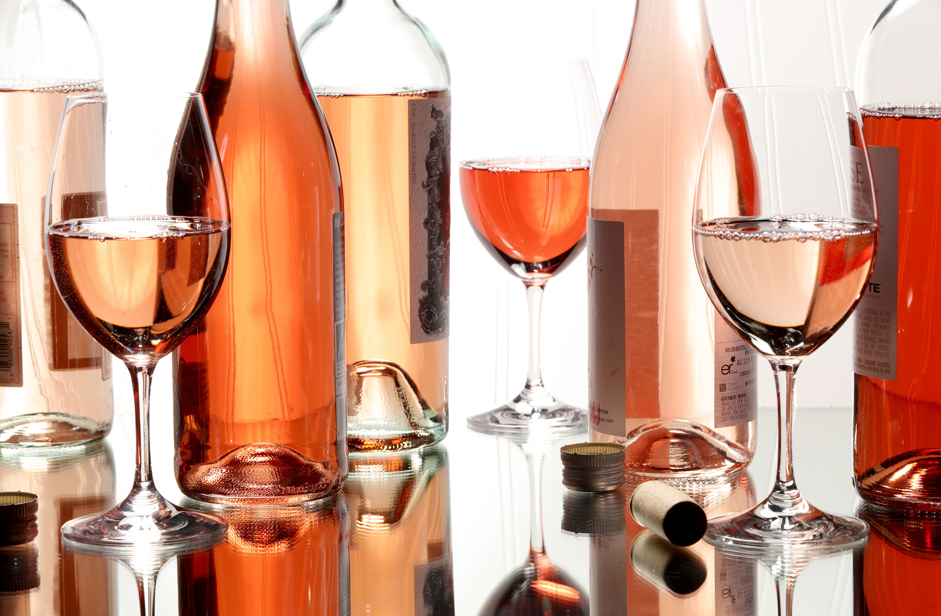 Collection of Rose wines