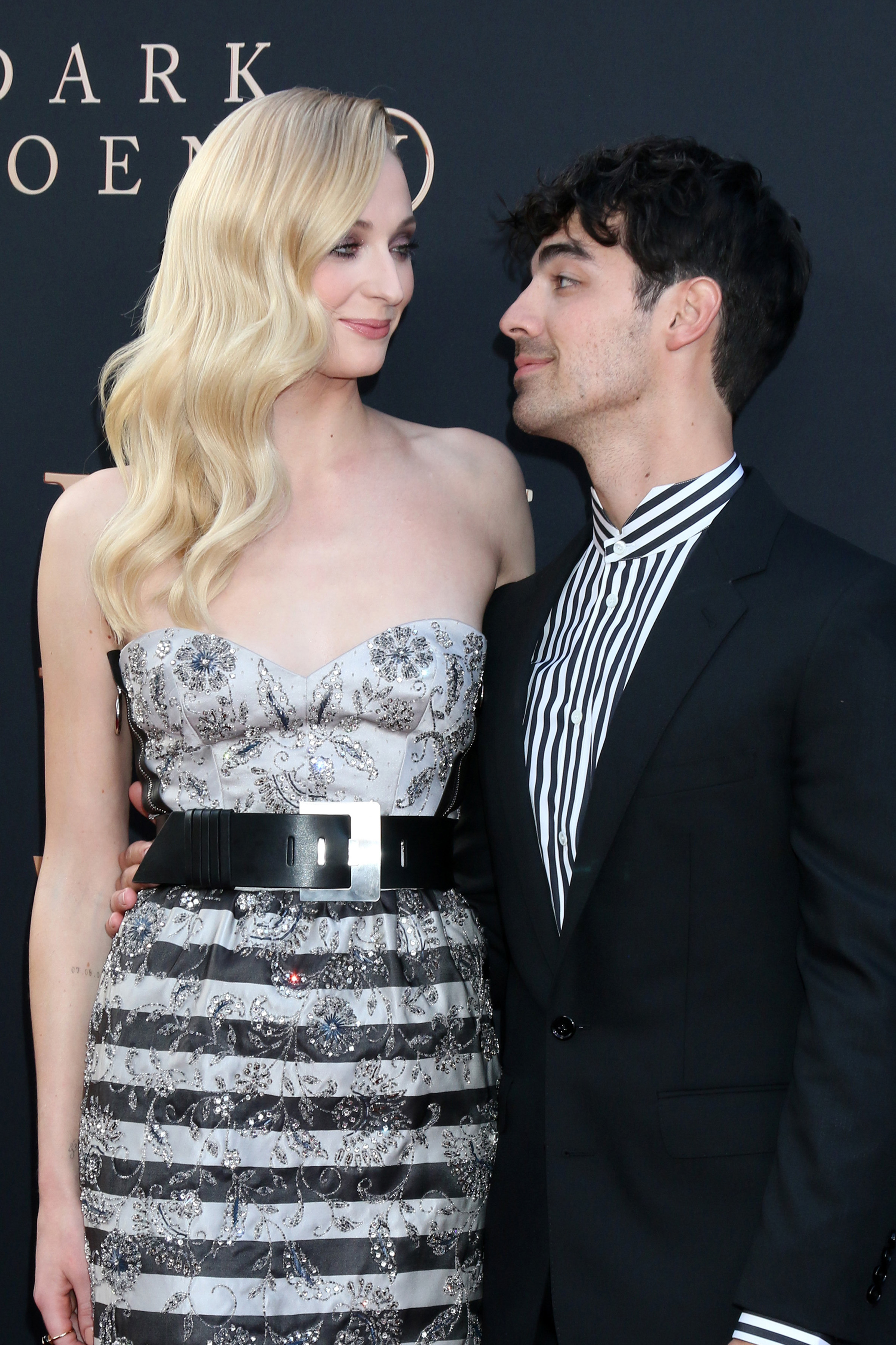 Sophie is now happily married to Joe Jonas. Credit: PA