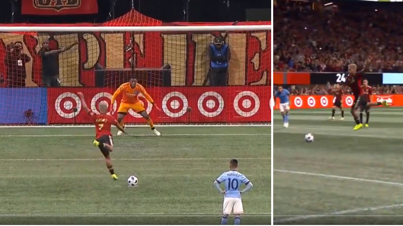 Atlanta United's Josef Martinez Has The Most Ridiculous Penalty Technique