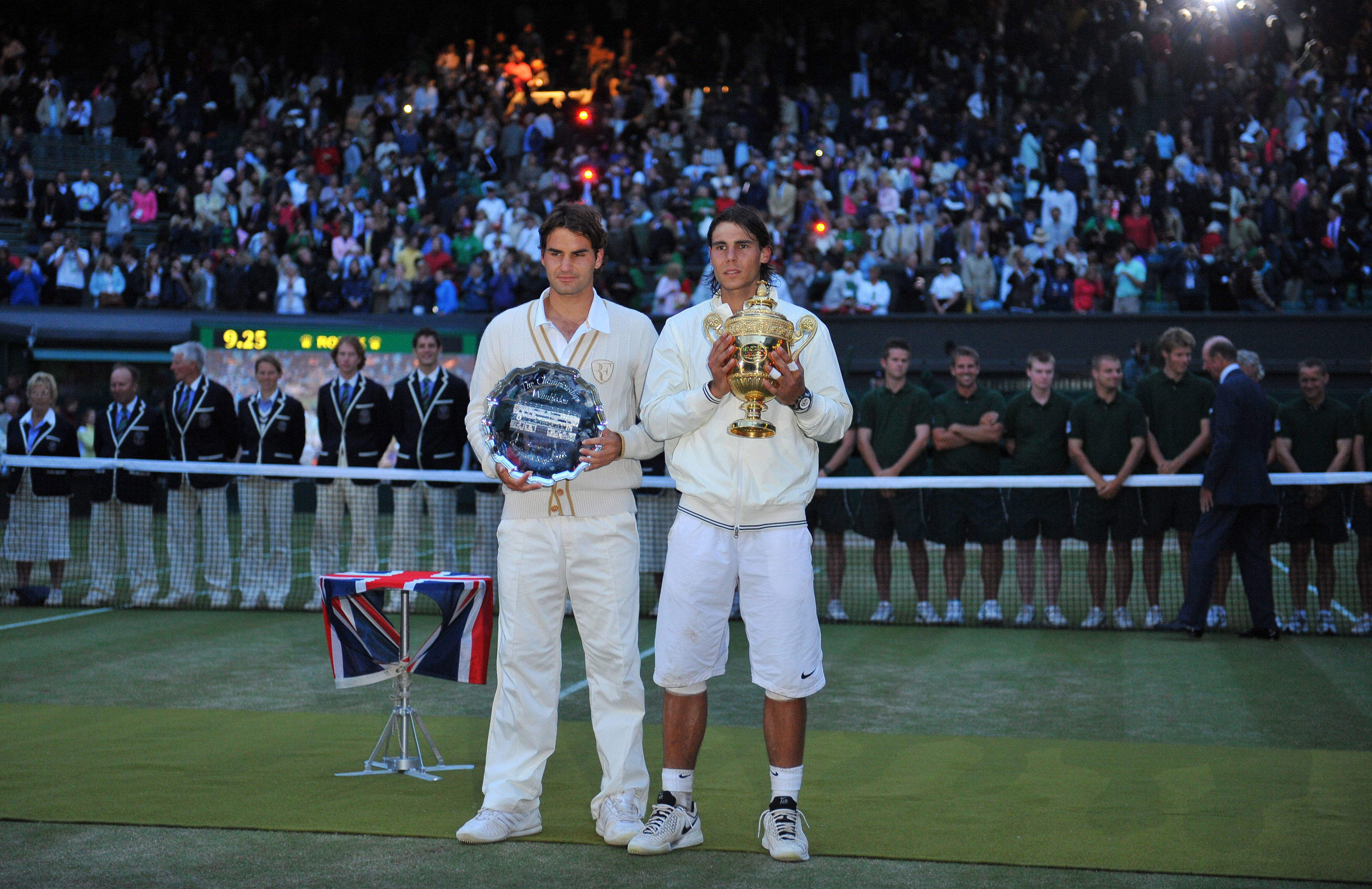 Rafael Nadal's win over Roger Federer in the 2008 final was one of the sport's greatest ever matches