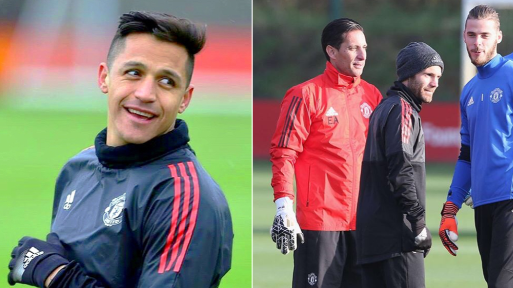 Juan Mata Is Said To Beat Alexis Sanchez At Sprints In Manchester United Training
