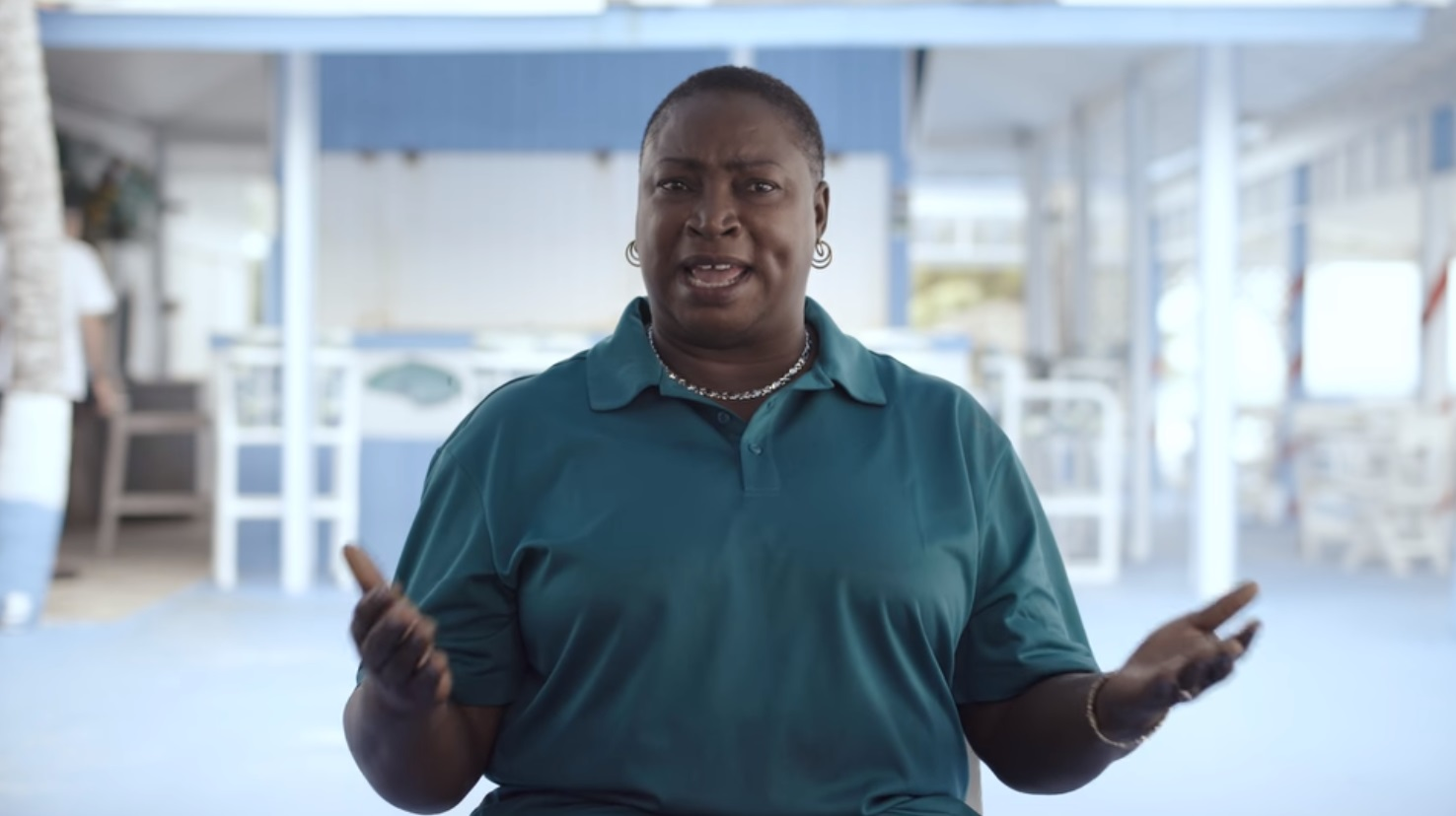 Viewers were struck by the story of local caterer Maryann Rolle. Credit: Netflix