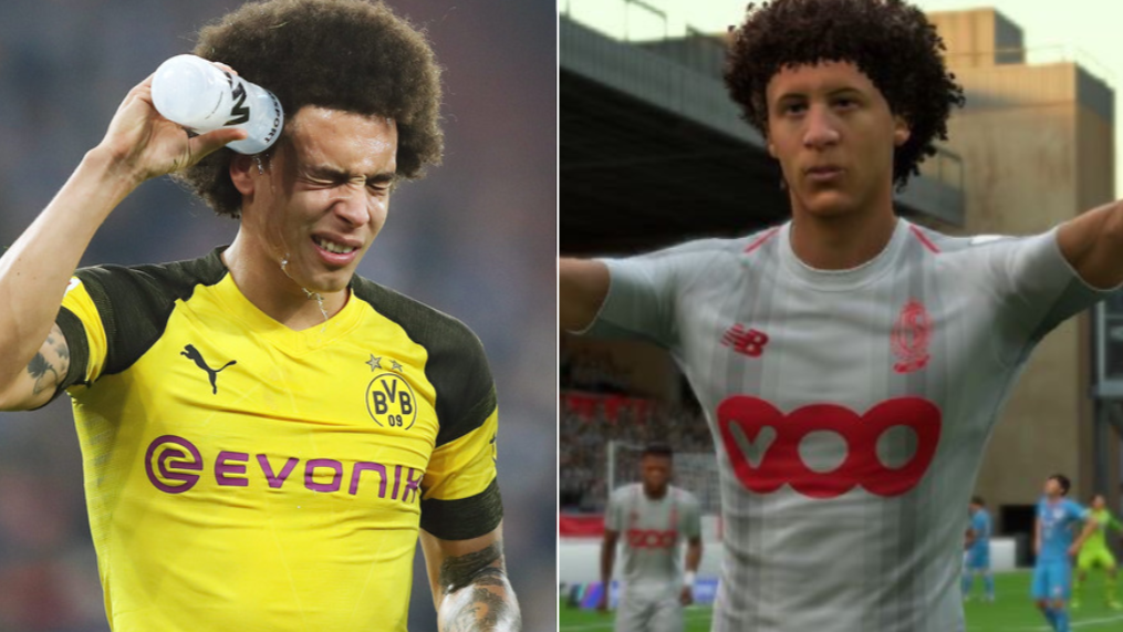 "Axel Witsel Tells EA Sports To ""Fix His Face"" In FIFA 19"