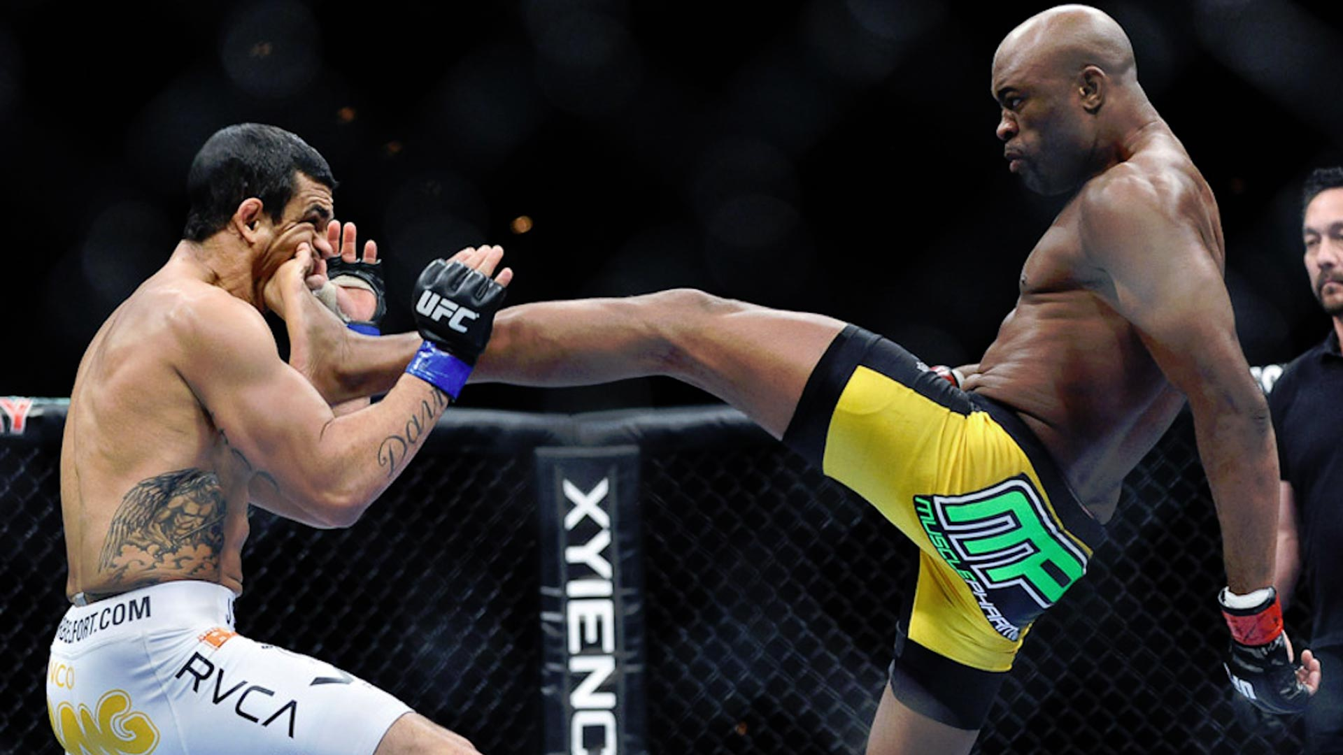 On This Day Six Years Ago: Anderson Silva Scores Front-Kick KO - SPORTbible