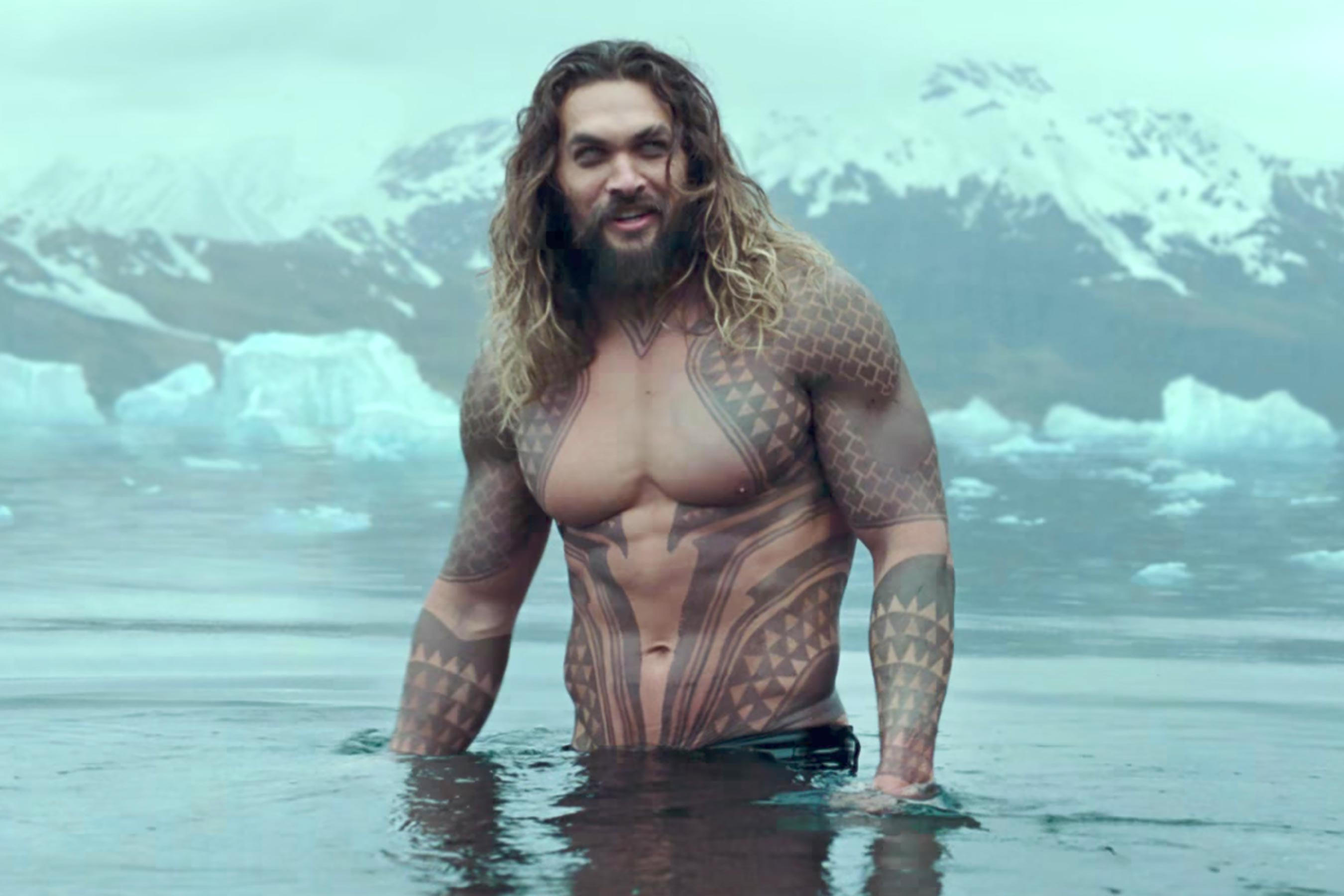 Jason Momoa Teases Aquaman Trailer Ahead of SDCC Reveal