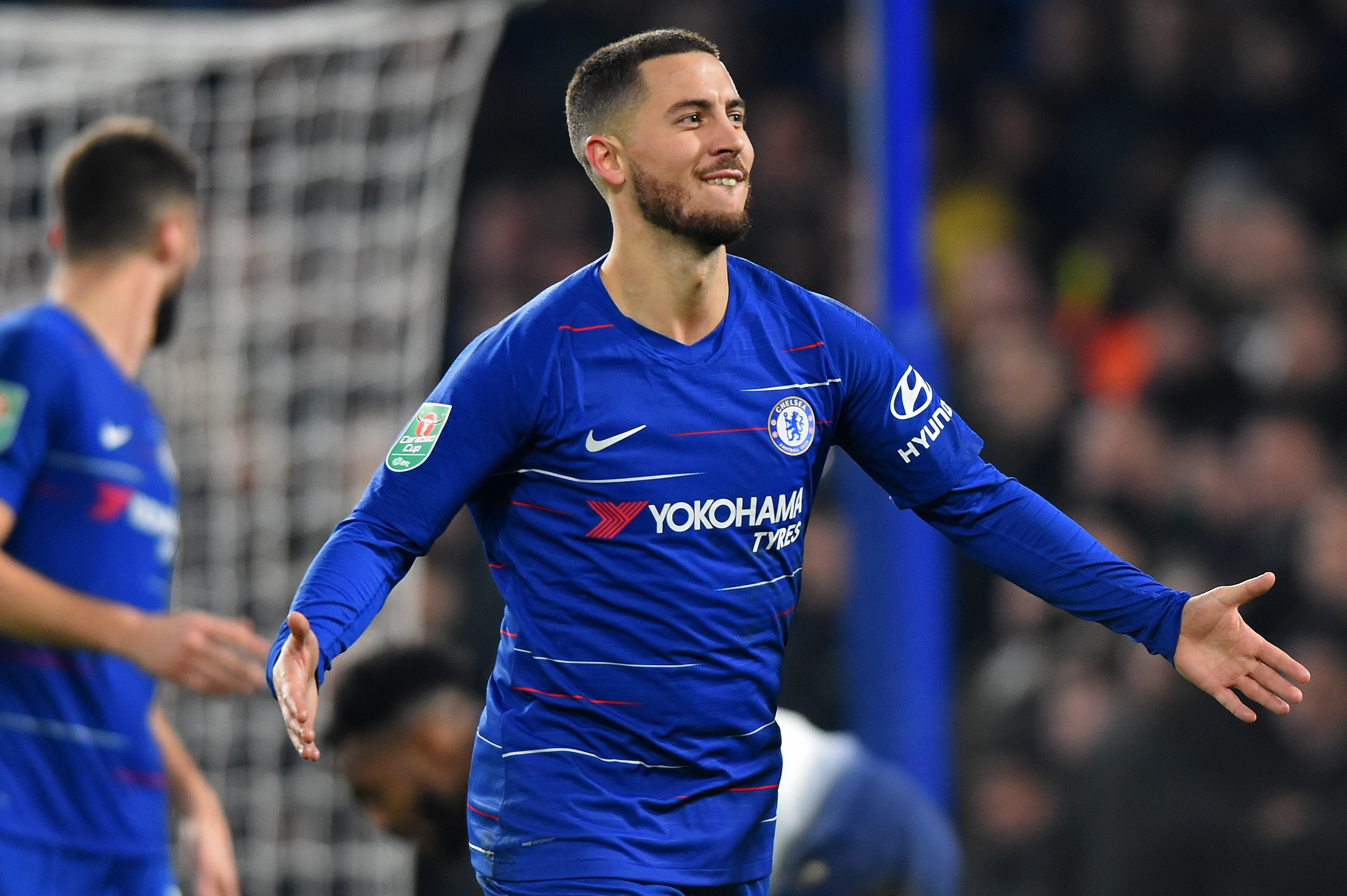 Chelsea boss Maurizio Sarri in dressing room confrontation with Eden Hazard