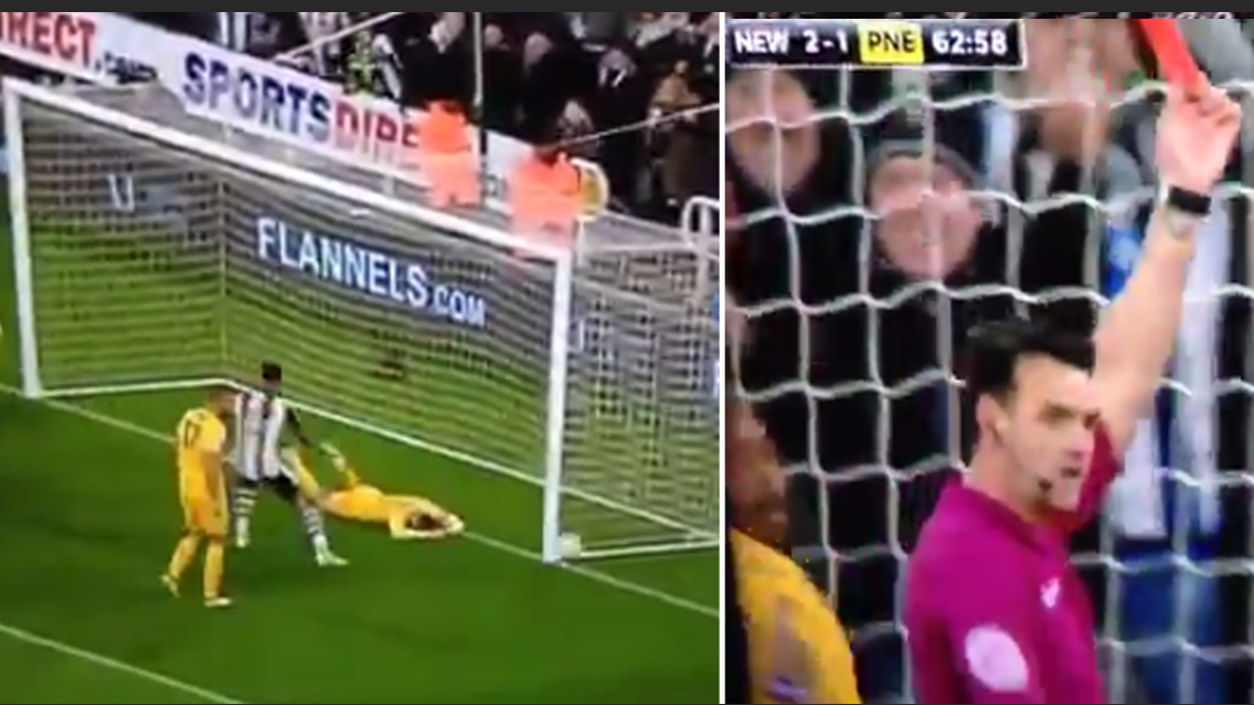 WATCH: Paul Gallagher Produces A Save Manuel Neuer Would Be Proud Of
