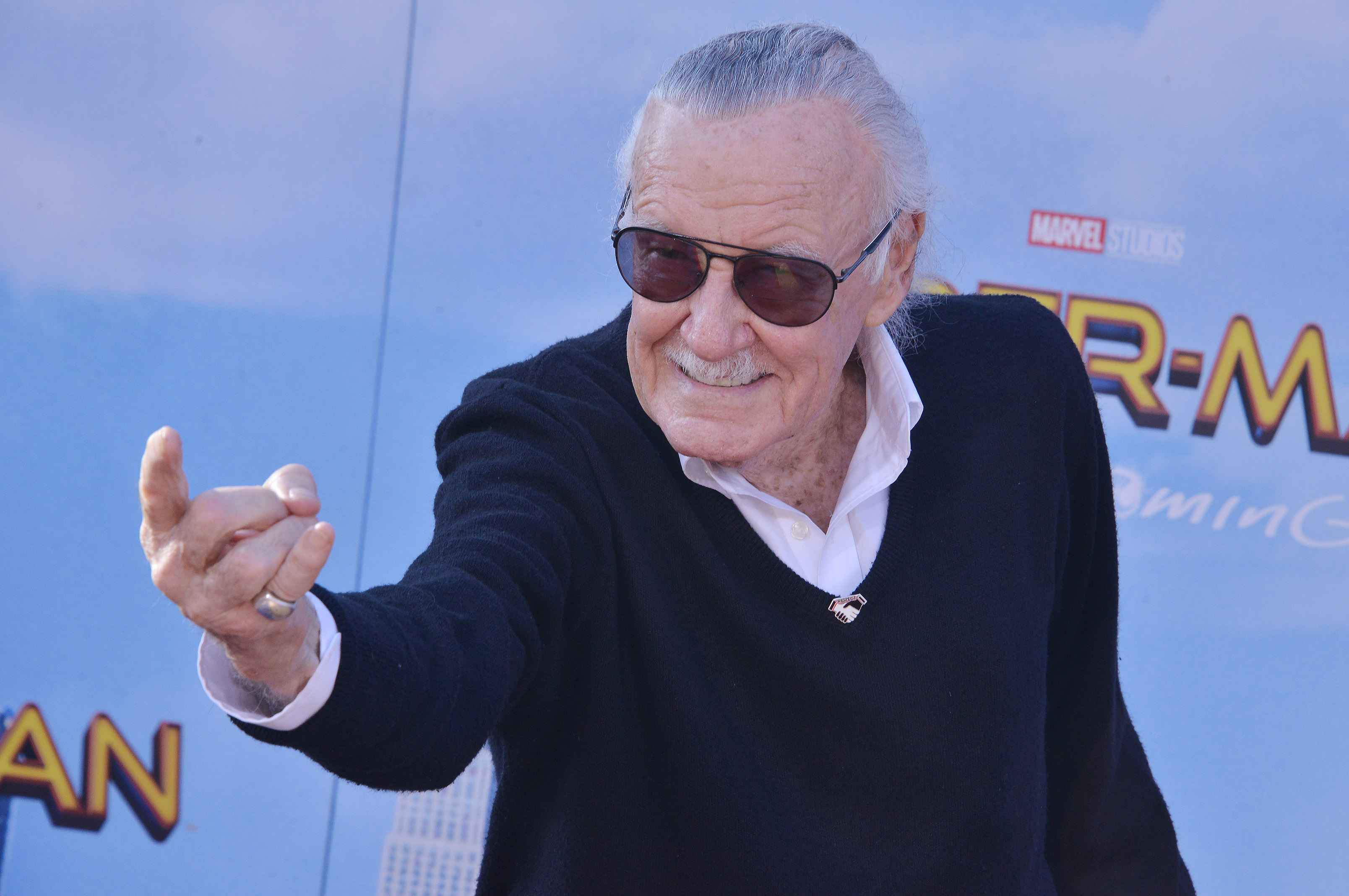 Marvel's Stan Lee, who has died aged 95. Credit: PA