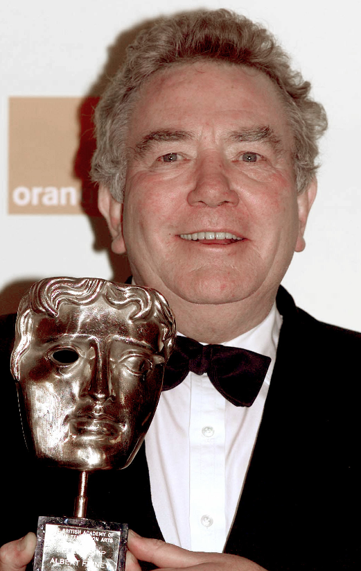 Albert Finney receiving a his fellowship BAFTA. Credit: PA