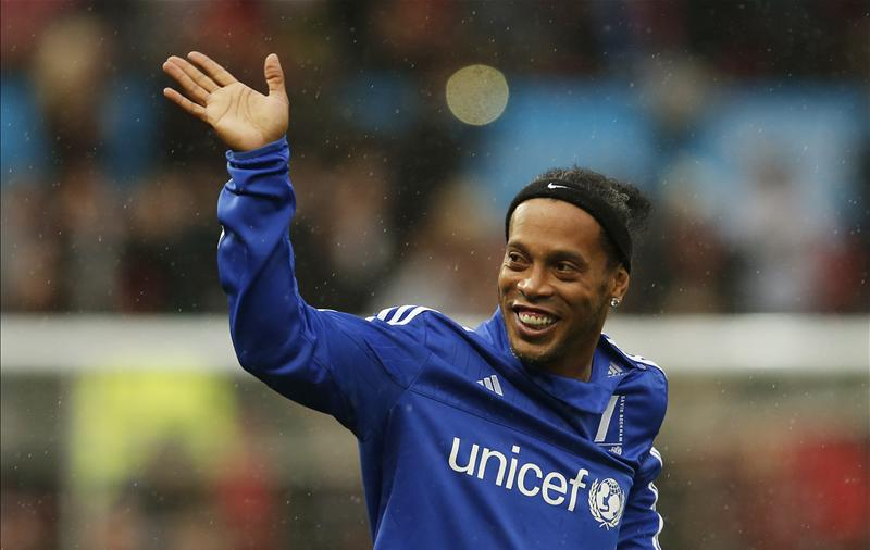 Ronaldinho UNICEF game