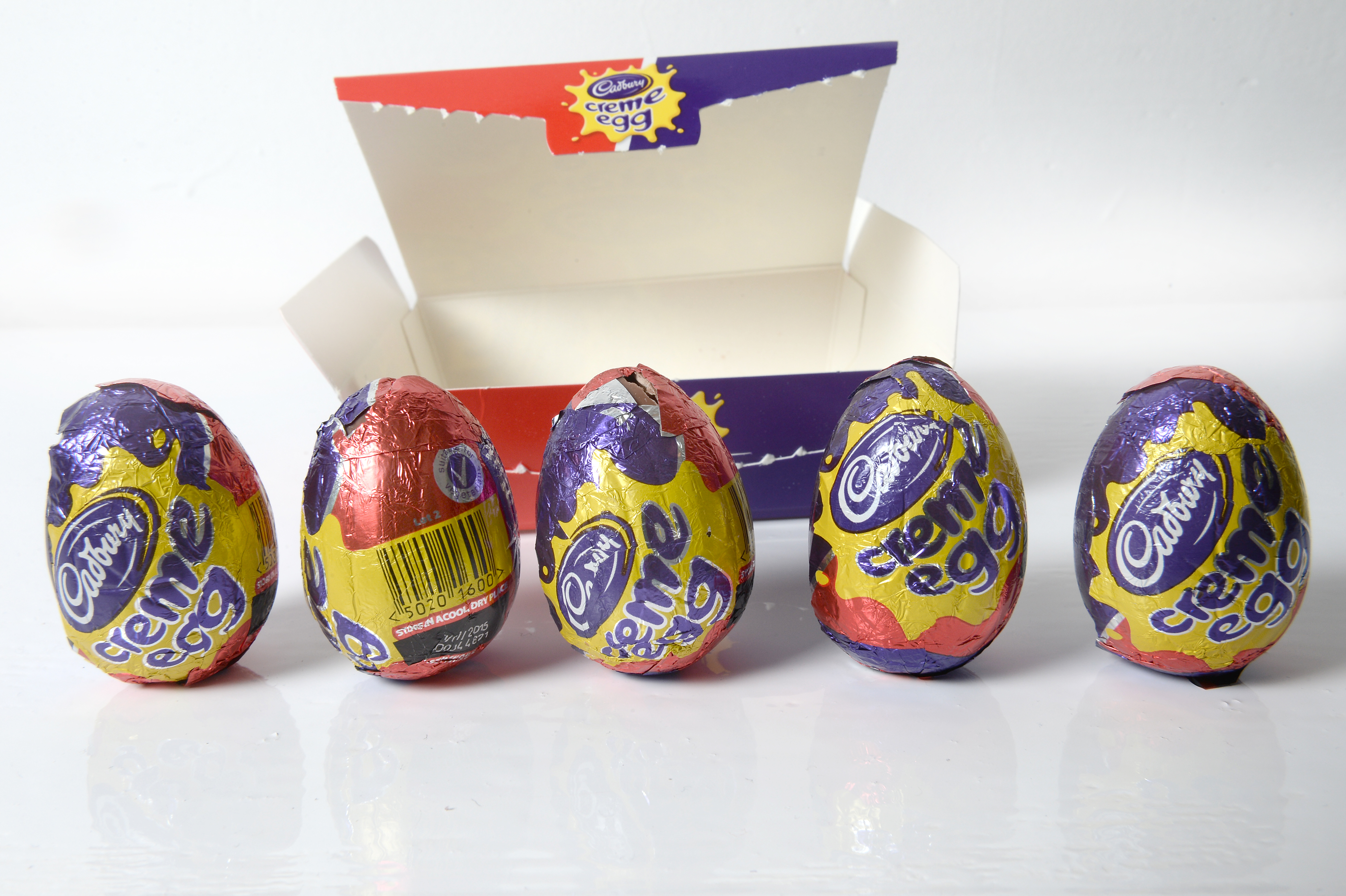 Thousands of eggs have been hidden across the UK. Credit: PA