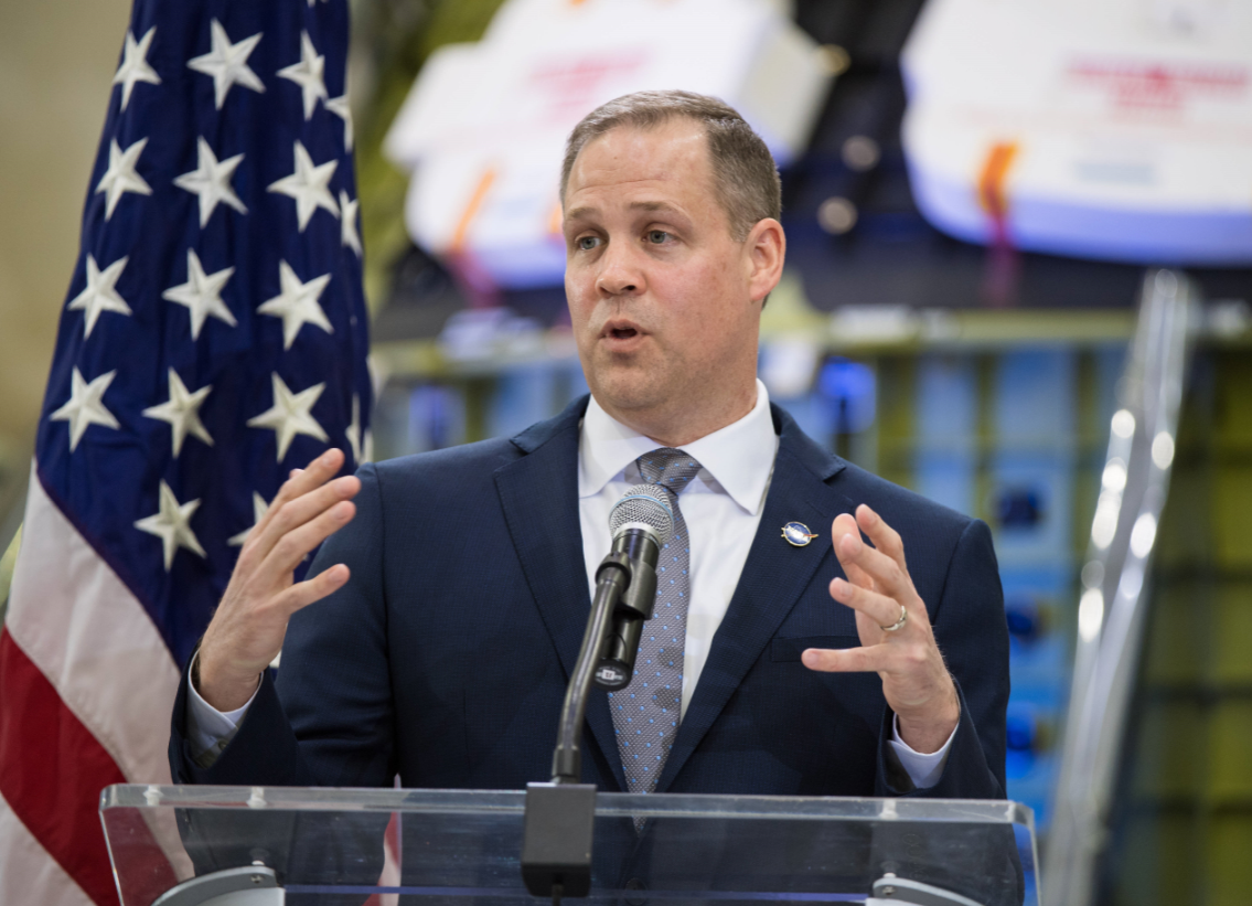 Jim Bridenstine. Credit: PA